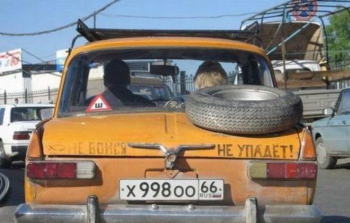 Автомобильные приколы. Часть 151 (43 фото)