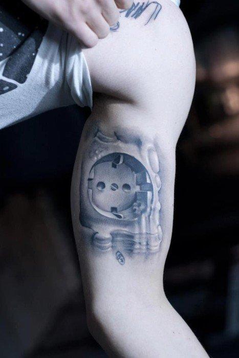3D татуировки (37 фото)