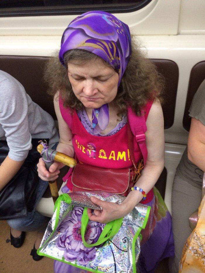 Модники в московском метро (13 фото)