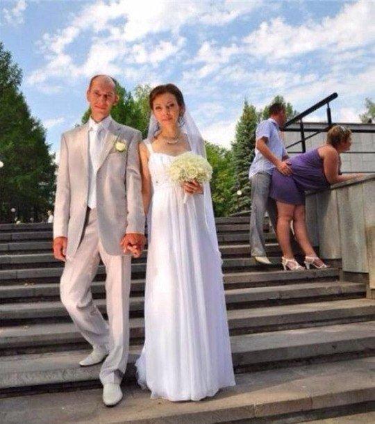 Свадебные приколы (58 фото)