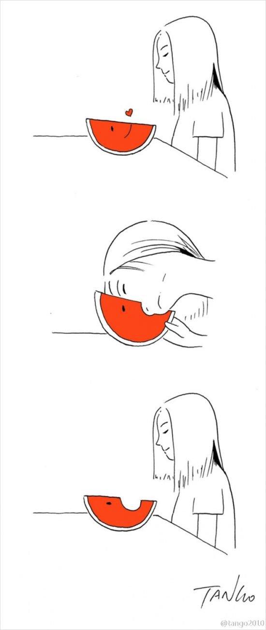 Забавные комиксы и рисунки Tango (21 фото)