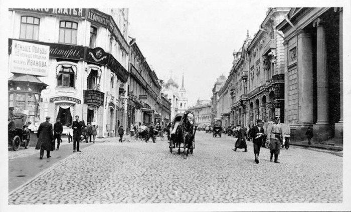 Москва век назад (35 фото)