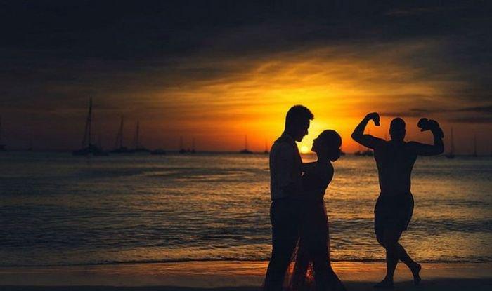 Свадебные фотобомбы (20 фото)