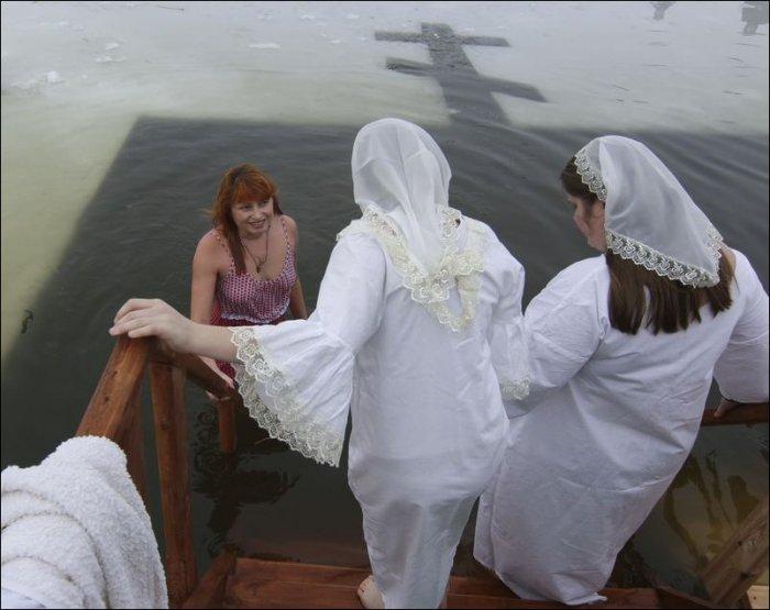 Крещенские купания 2016 (39 фото)