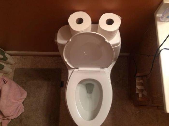 Картинки осликом, картинки с приколами с туалетом