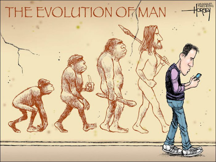 Эволюция в картинках (28 фото)