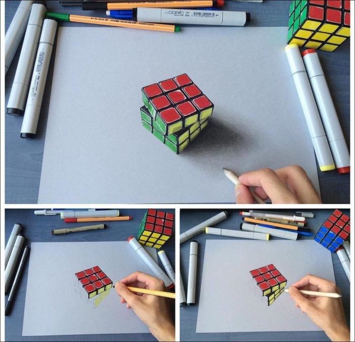 Невероятно реалистичные рисунки (8 фото)