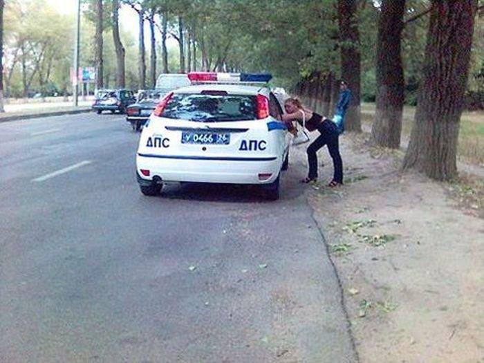 Наша полиция нас бережет (25 фото)