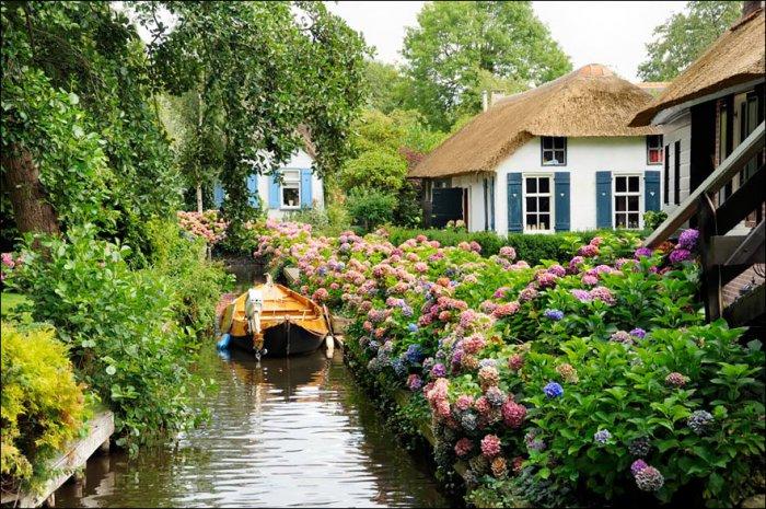 Волшебная деревня без дорог (10 фото)