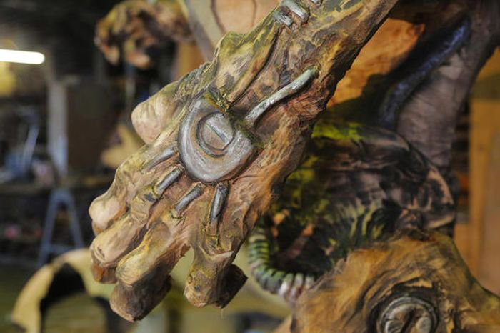 Классная скульптура от фаната игры DOOM (16 фото)