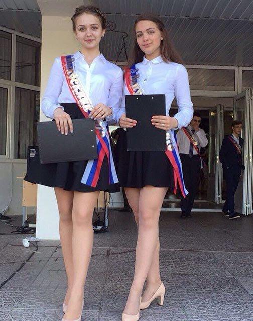 Девушки на выпускном 2016 (29 фото)
