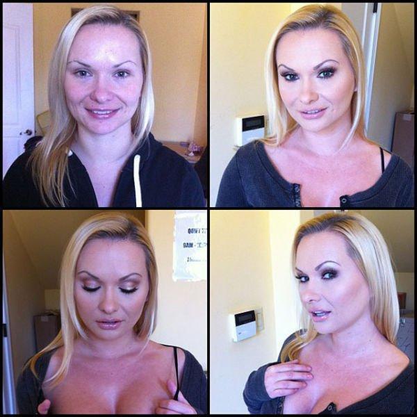 Звезды порнографических фильмов без макияжа (40 фото)