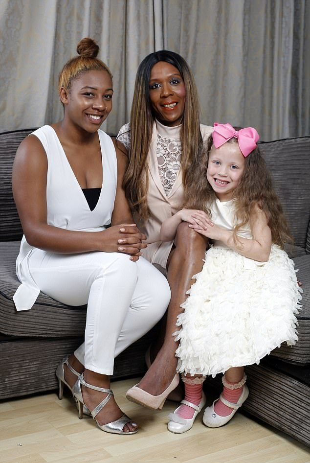 белая девушка с негритянкой них своя