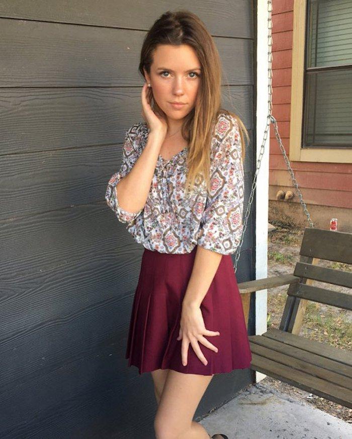 фото красивых девушек в легком платье - 12