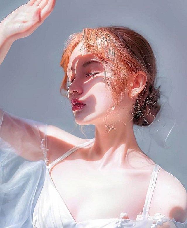 Картины в стиле гиперреализма (18 фото)
