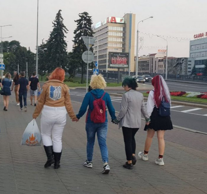 Стиляги из Белоруссии (33 фото)