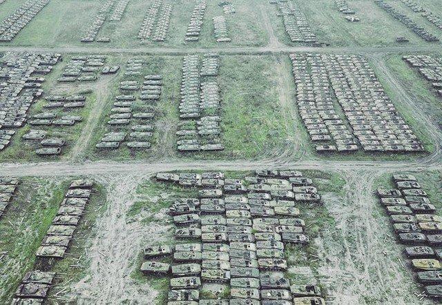 Кладбище танков в Сибири