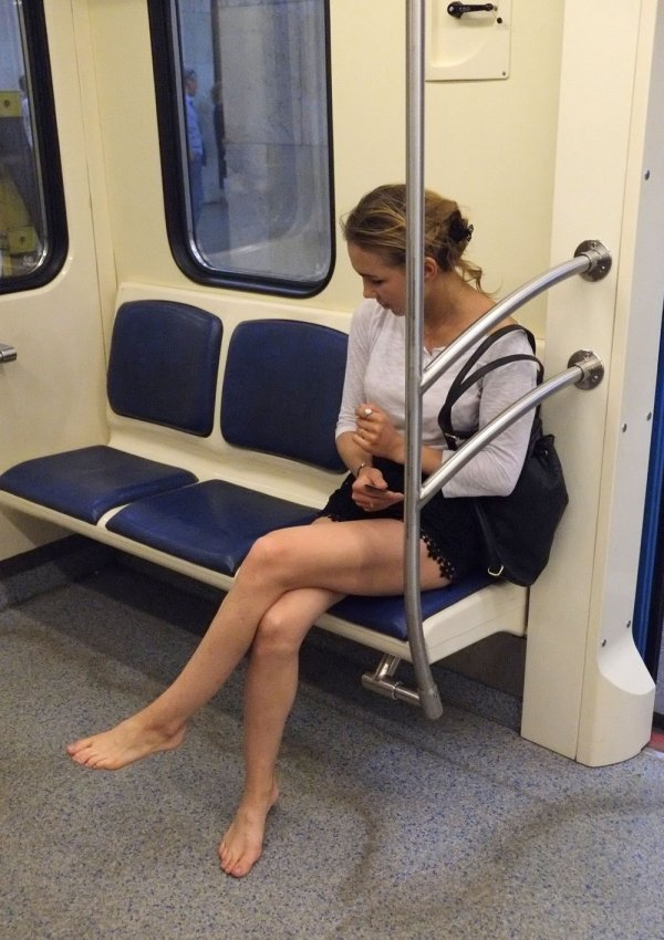 Стиляги в метро (03/09/2020)