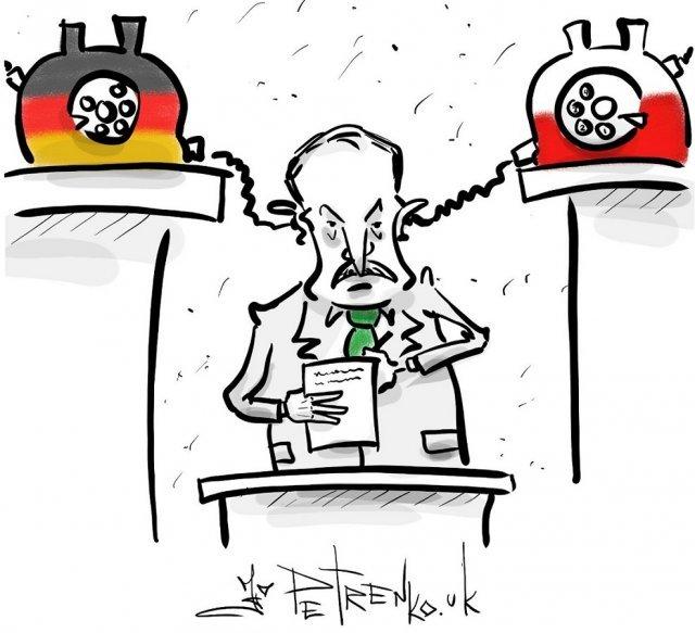 Приколы про «перехваченный разговор Германии и Польши»