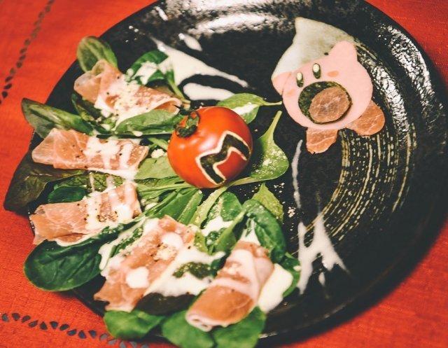 Оригинальная подача блюд в Японии