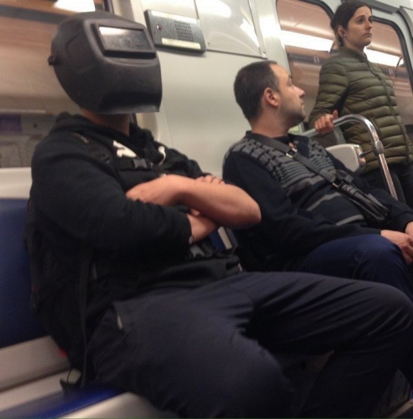 Стиляги в метро (08/09/2020)