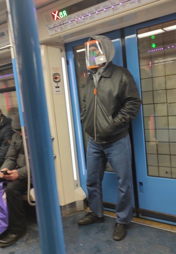 Стиляги в метро (26/01/2021)