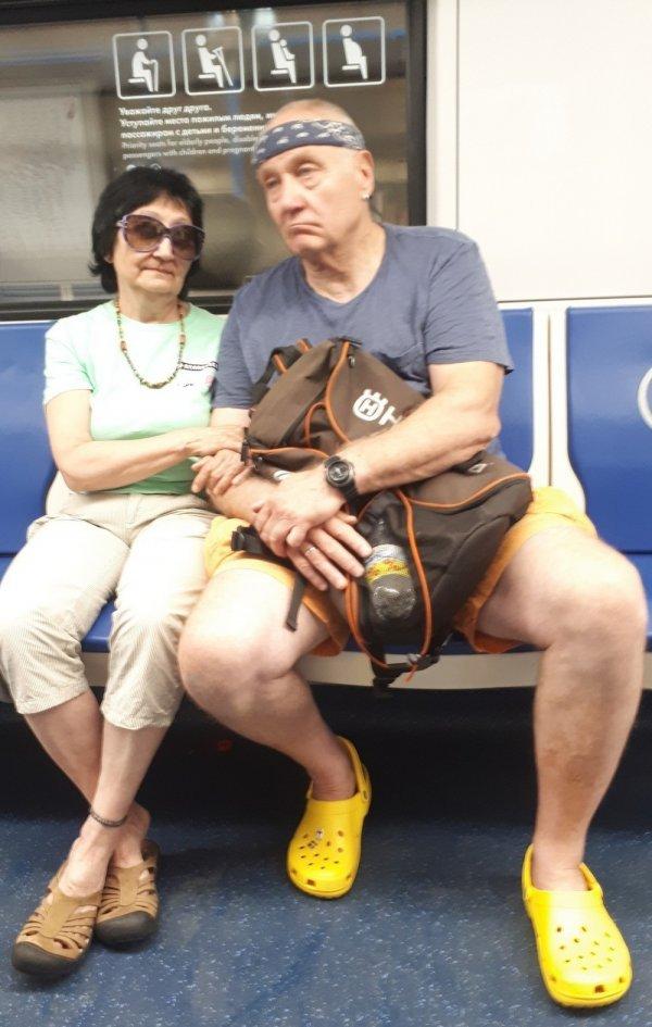 Стиляги в метро (05/10/2021)