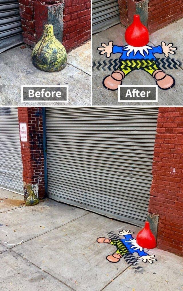 Уличные работы художника Тома Боба