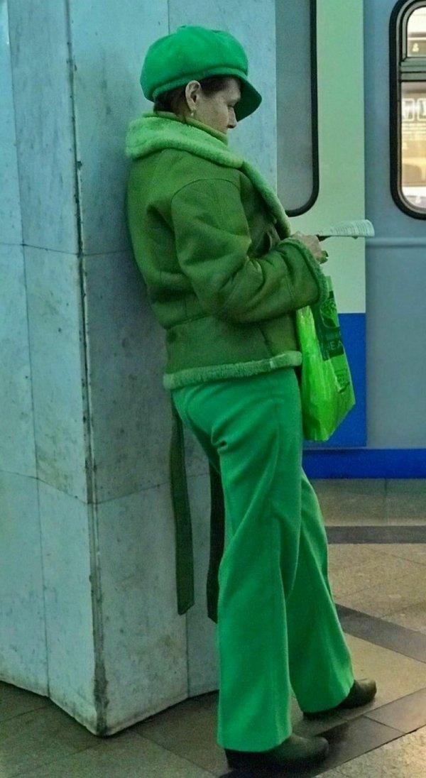 Стиляги в метро (16/03/2021)