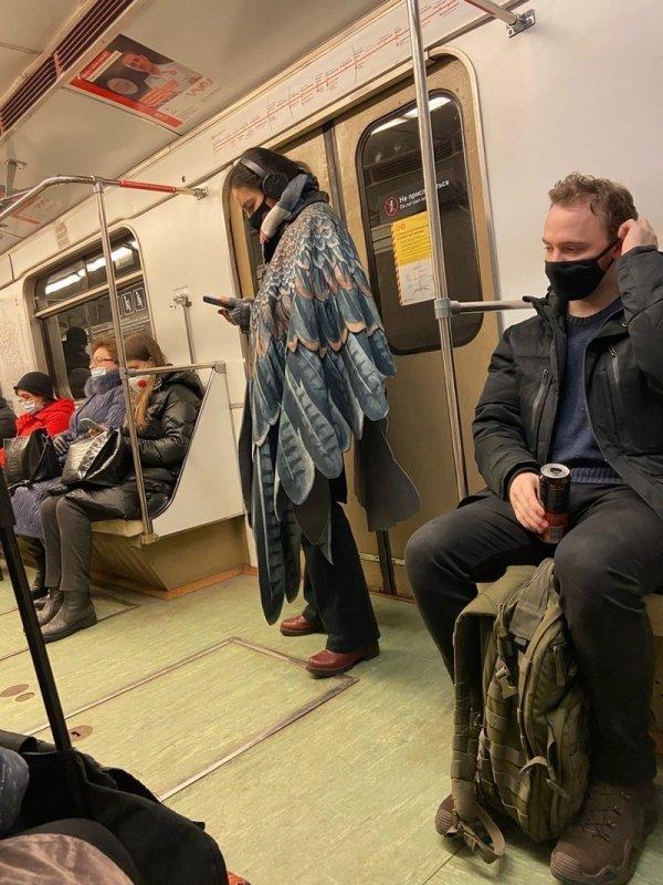 Стиляги в метро (23/03/2021)