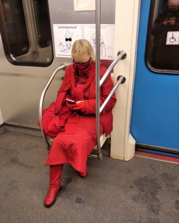 Стиляги в метро (14/04/2021)