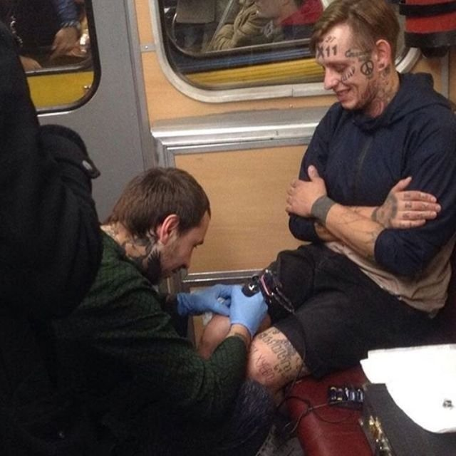 Странные ситуации в метро