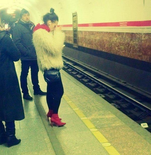 Стиляги в метро (06/07/2021)