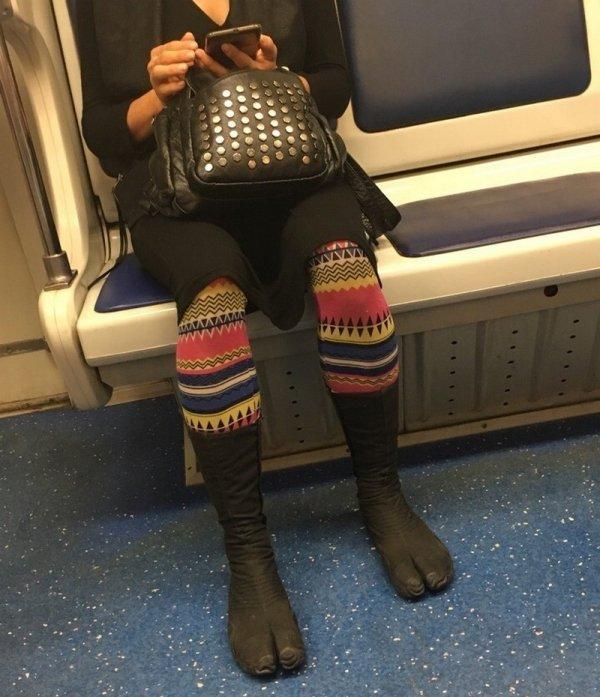 Стиляги в метро (24/08/2021)