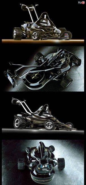 Газонокосилки в стиле Формулы (5 фото)