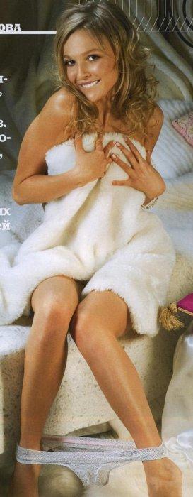 Актриса Елена Великанова в MAXIM за февраль (6 фото)