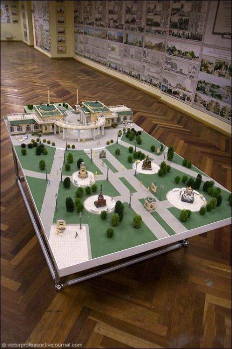 Москва в масштабе (25 фото)