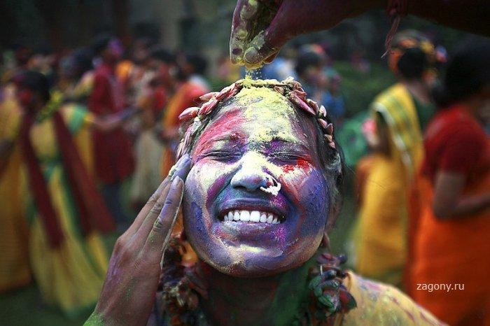 Праздник красок (5 фото)