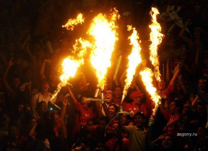 Футбольные фанаты (25 фото)