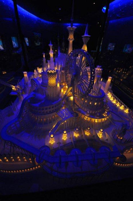 Замок из бумаги (11 фото)