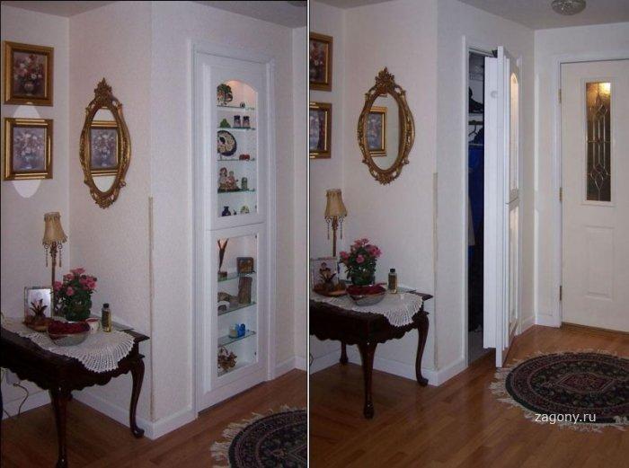 Тайные комнаты (10 фото)