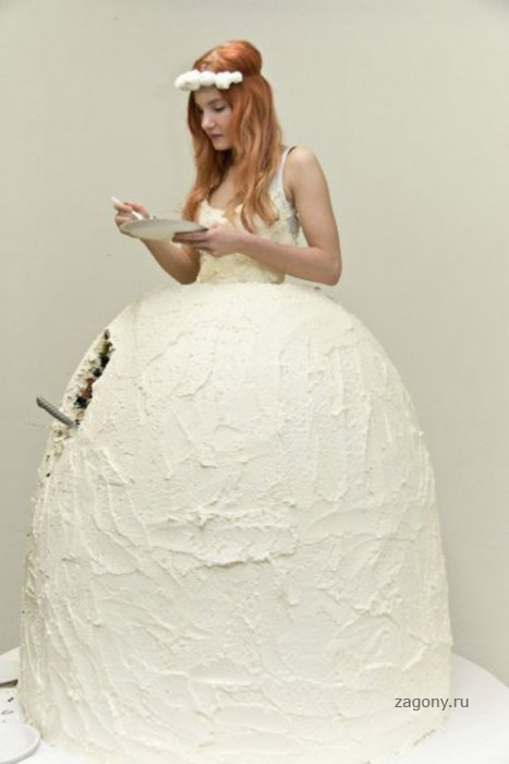 Платье-торт (4 фото)