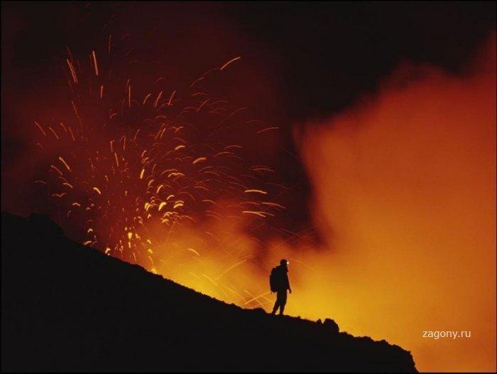 Вулканы (10 фото)