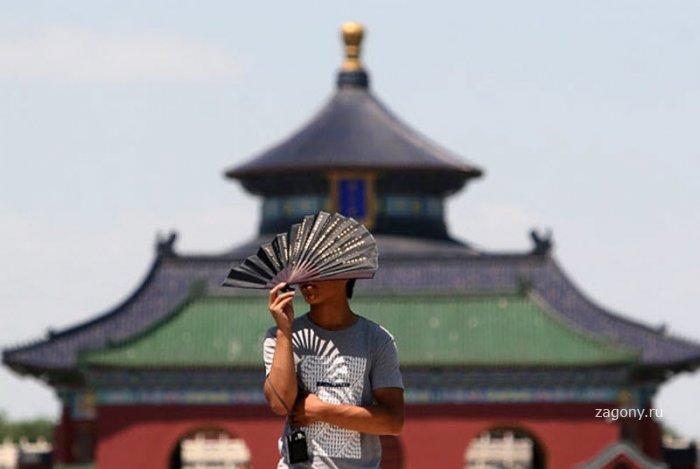 Аномальная жара в Китае (26 фото)