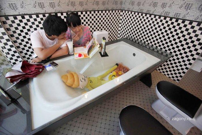 Туалетный ресторан (11 фото)