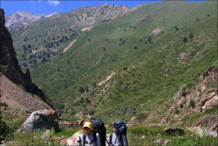 Озеро Сылтранкель на Кавказе (17 фото)