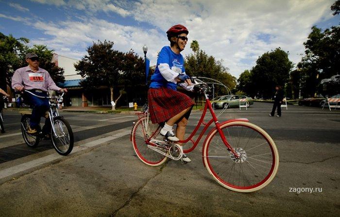 Мировой велосипедный рекорд (23 фото)