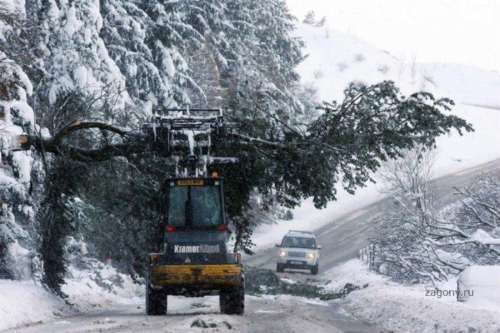 В Европу пришла морозная и снежная зима (19 фото)
