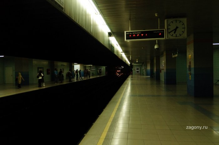Метро в Анкаре (19 фото)