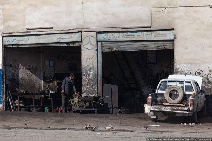 Автомастерские в Иордании (20 фото)